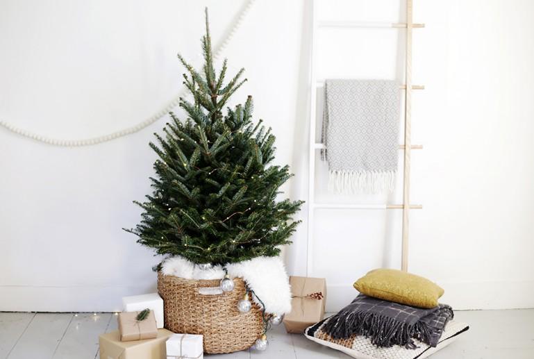 Basket Tree Skirt @themerrythought