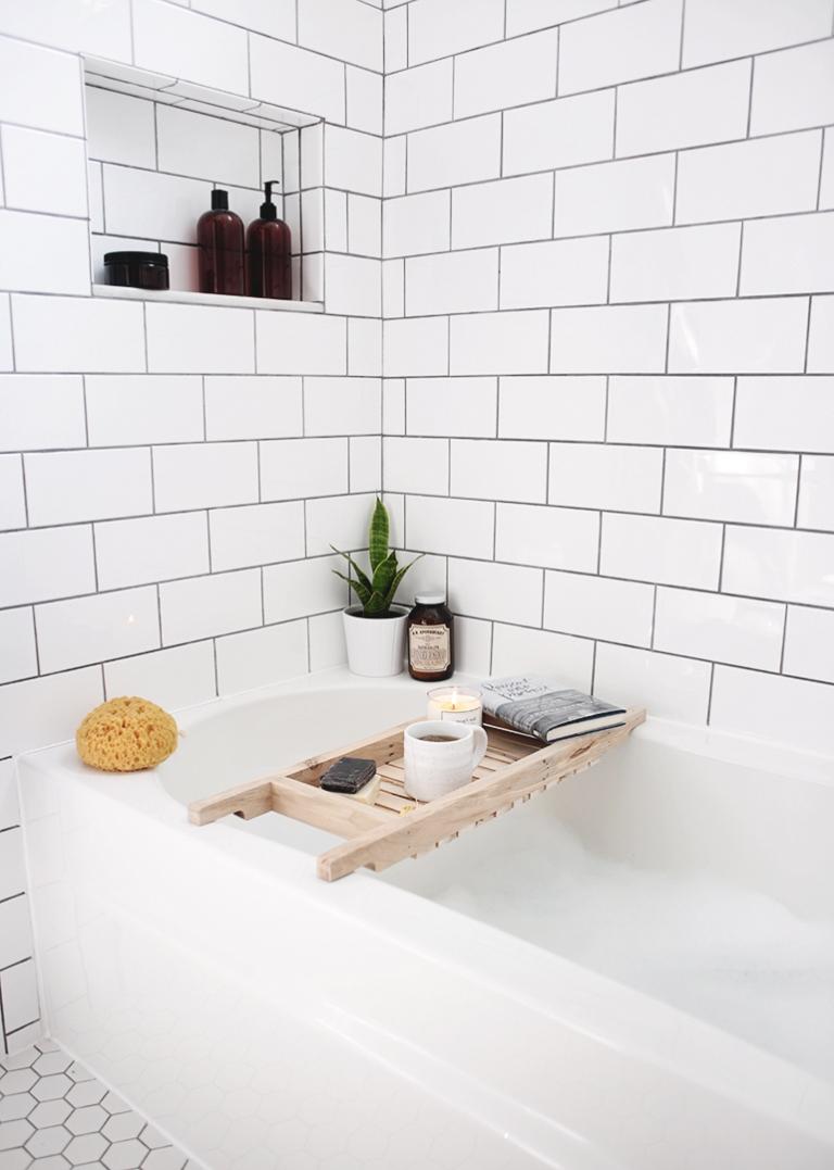 DIY Bathtub Caddy - The Merrythought