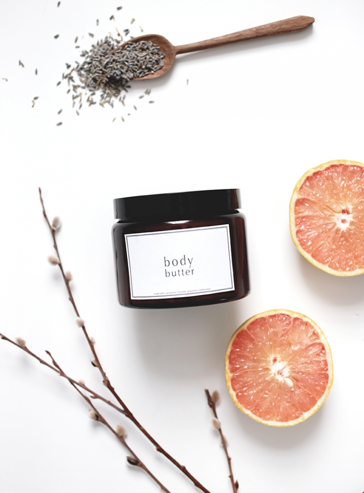 Homemade Body Butter @themerrythought