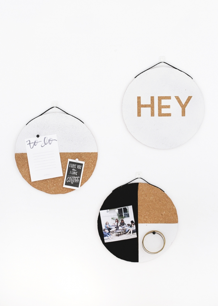 DIY Cork Boards @themerrythought