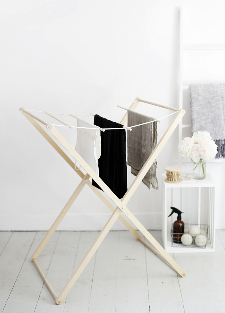 Diy Drying Rack The Merrythought