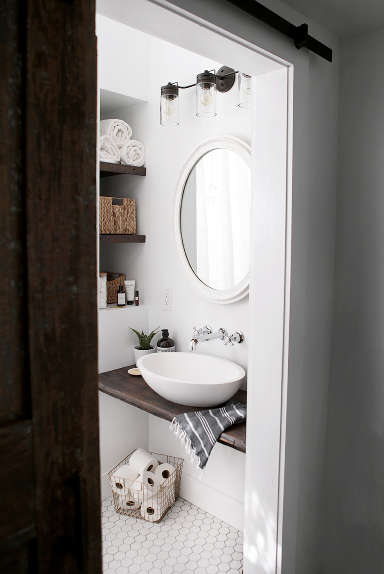 sink shelf bathroom diy floating sink shelf the merrythought 14439