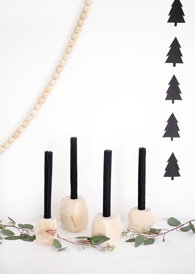 DIY Advent Candle Holders @themerrythought
