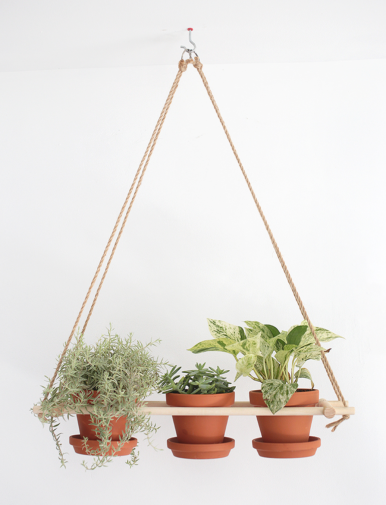 DIY Hanging Planter » The Merrythought