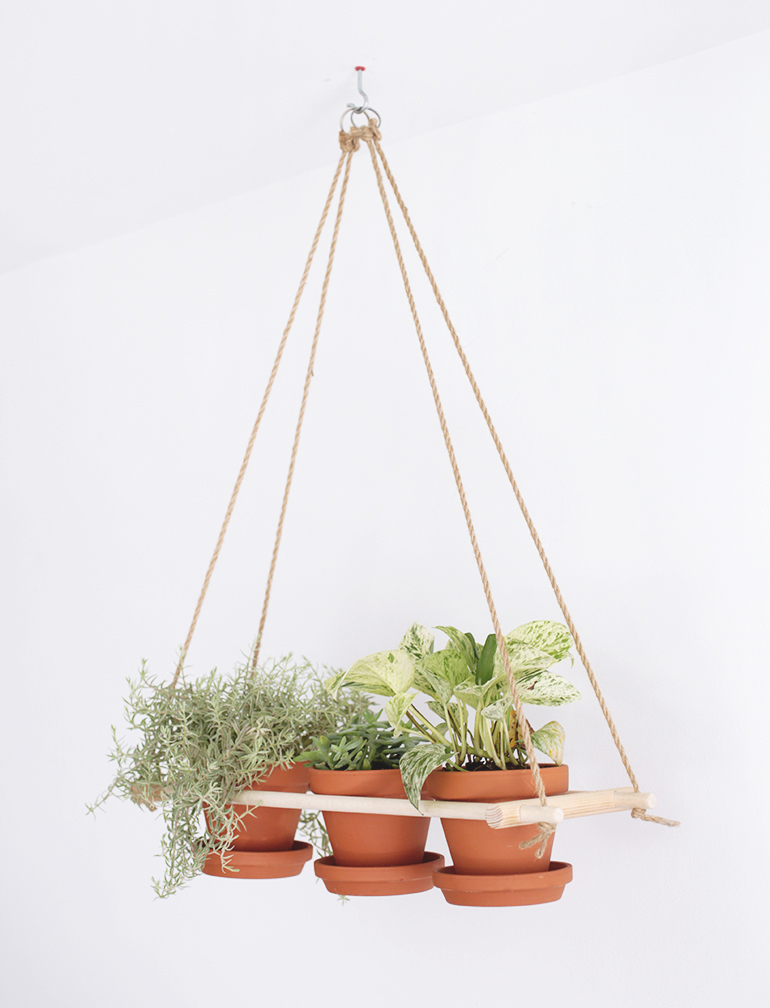 diy hanging planters the image kid has it
