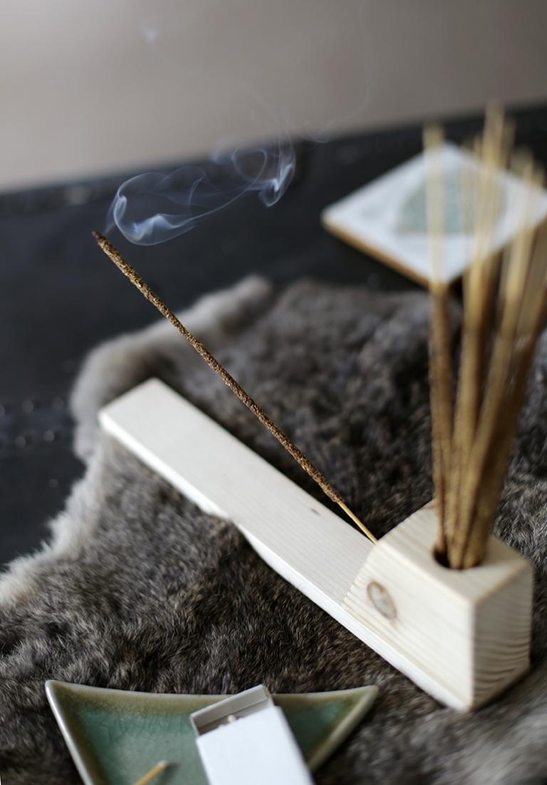 how to make a diy incense holder