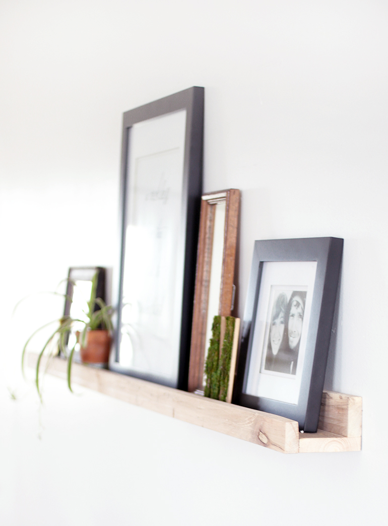 DIY Picture Ledge - The Merrythought