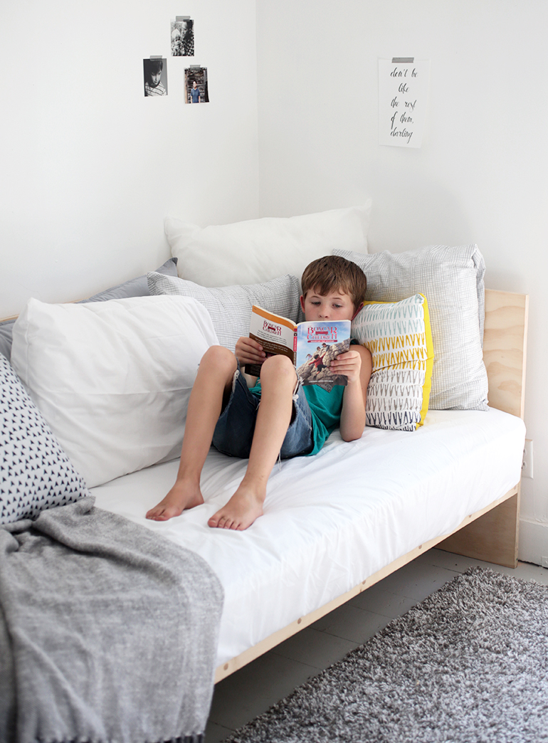 DIY Plywood Daybed - The Merrythought