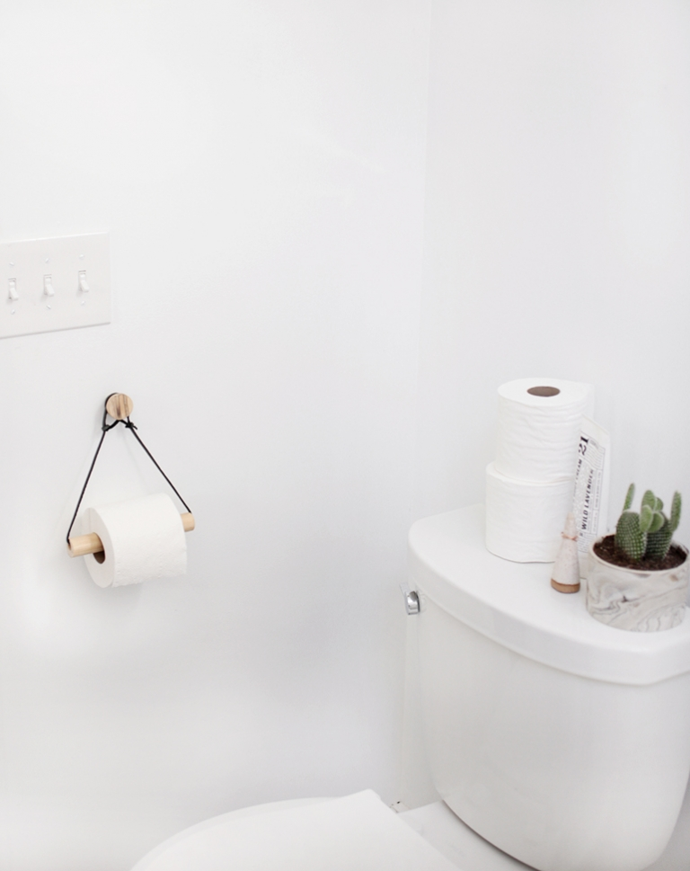 Futuristic Diy Toilet Paper Holder Design