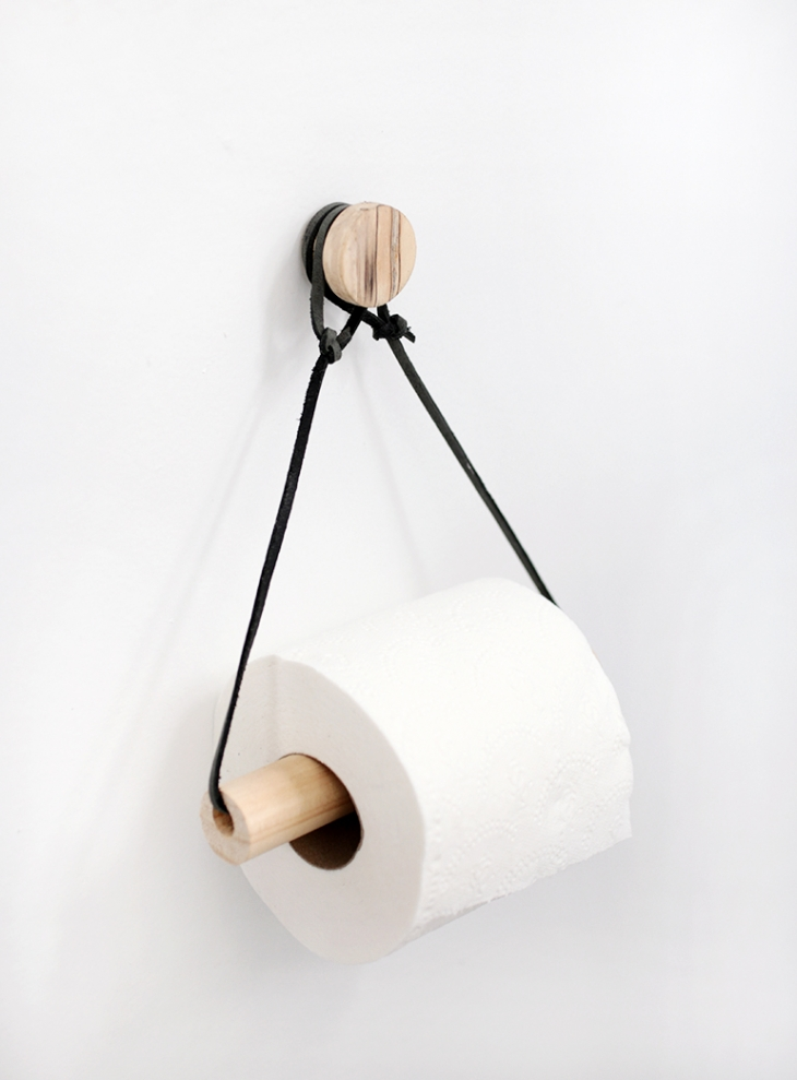 Toilettes DIY Porte-papier @themerrythought
