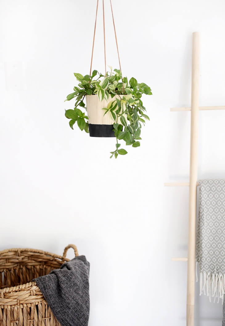 Diy Wood Hanging Planter The Merrythought