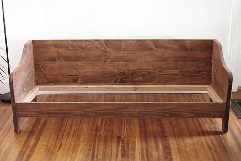 Diy Wood Sofa Themerrythought