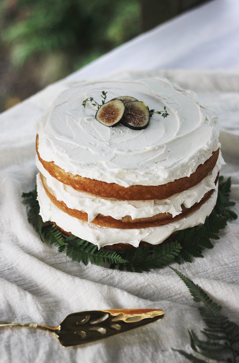 Layered Fig & Spice Cake @themerrythought