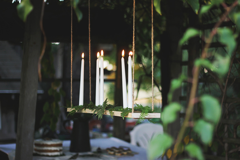 Hanging Candelabra @themerrythought