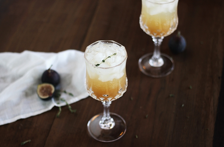 Fig & Thyme Fizz @themerrythought
