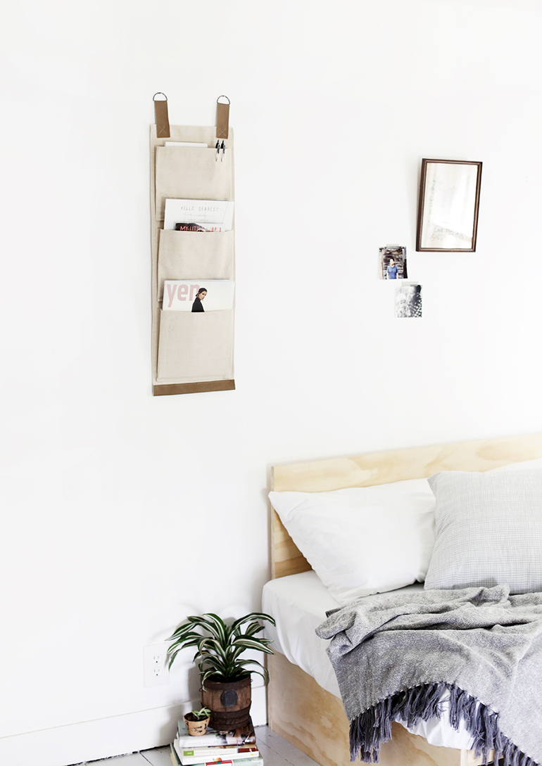 Diy Canvas Wall Pockets The Merrythought