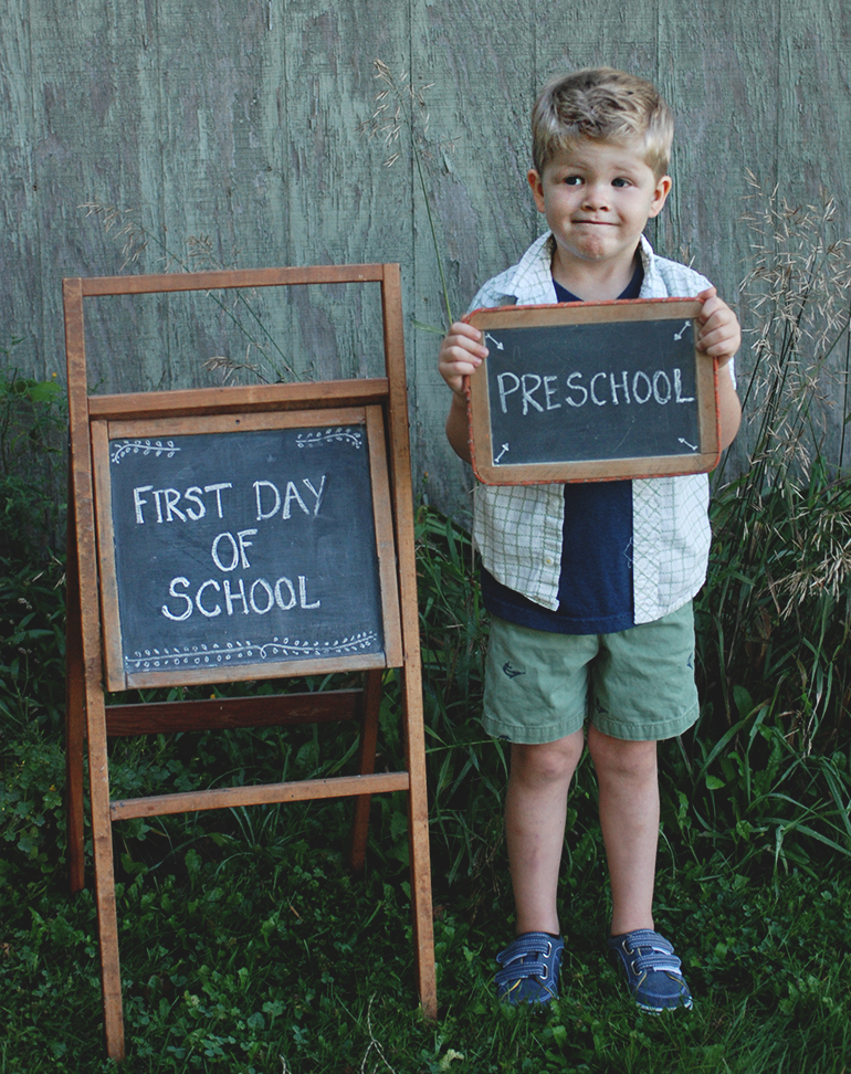 First Day of School @themerrythought