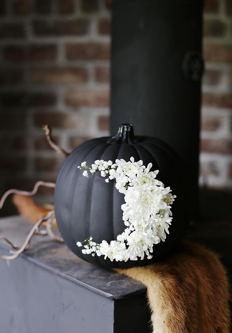 themerrythought Floral frais Lune Citrouille bricolage