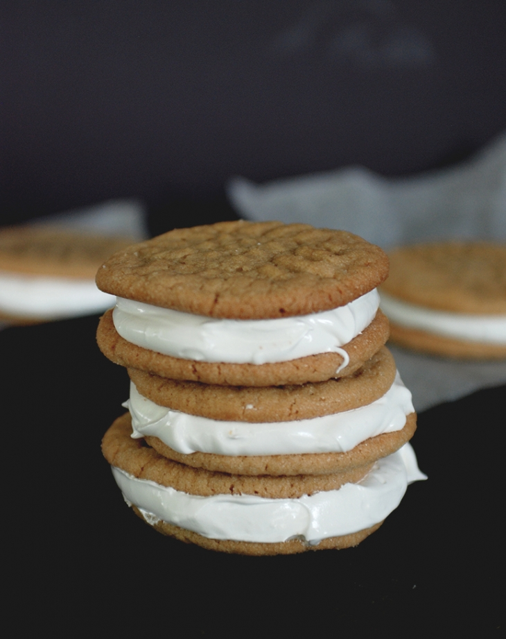 Fluffernutter Cookies @themerrythought
