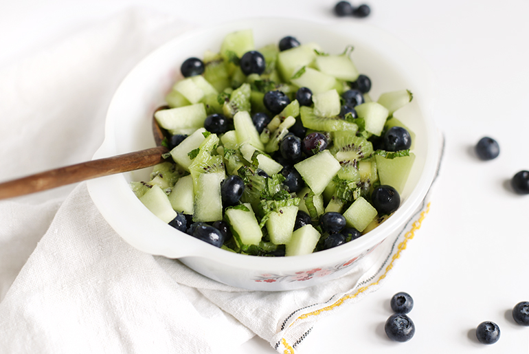 Mint Summer Salad @themerrythought