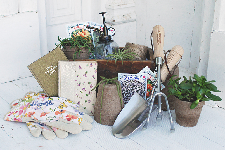 Gardener's Gift Basket by The Merry Thought