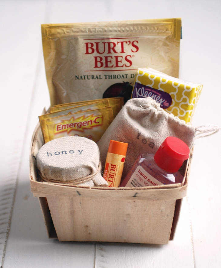DIY Get Well Basket @themerrythought
