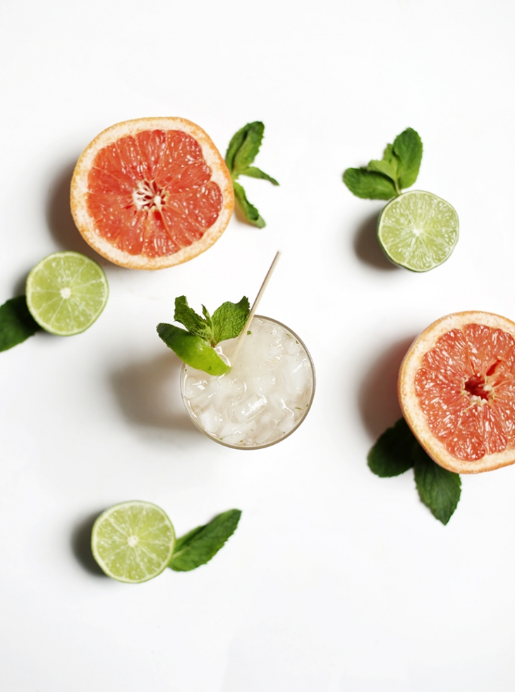 Grapefruit Mojito @themerrythought