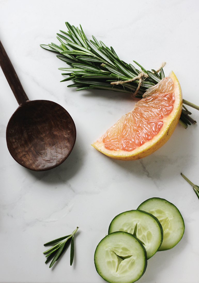 Grapefruit Rosemary Fizz The Merrythought