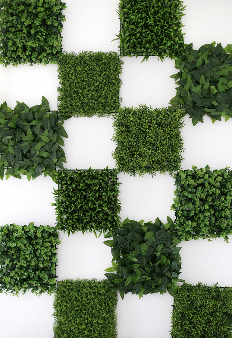 Diy Greenery Wall The Merrythought