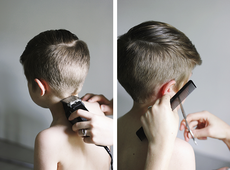 Boy Hair Style: How To: Modern Boy's Haircut