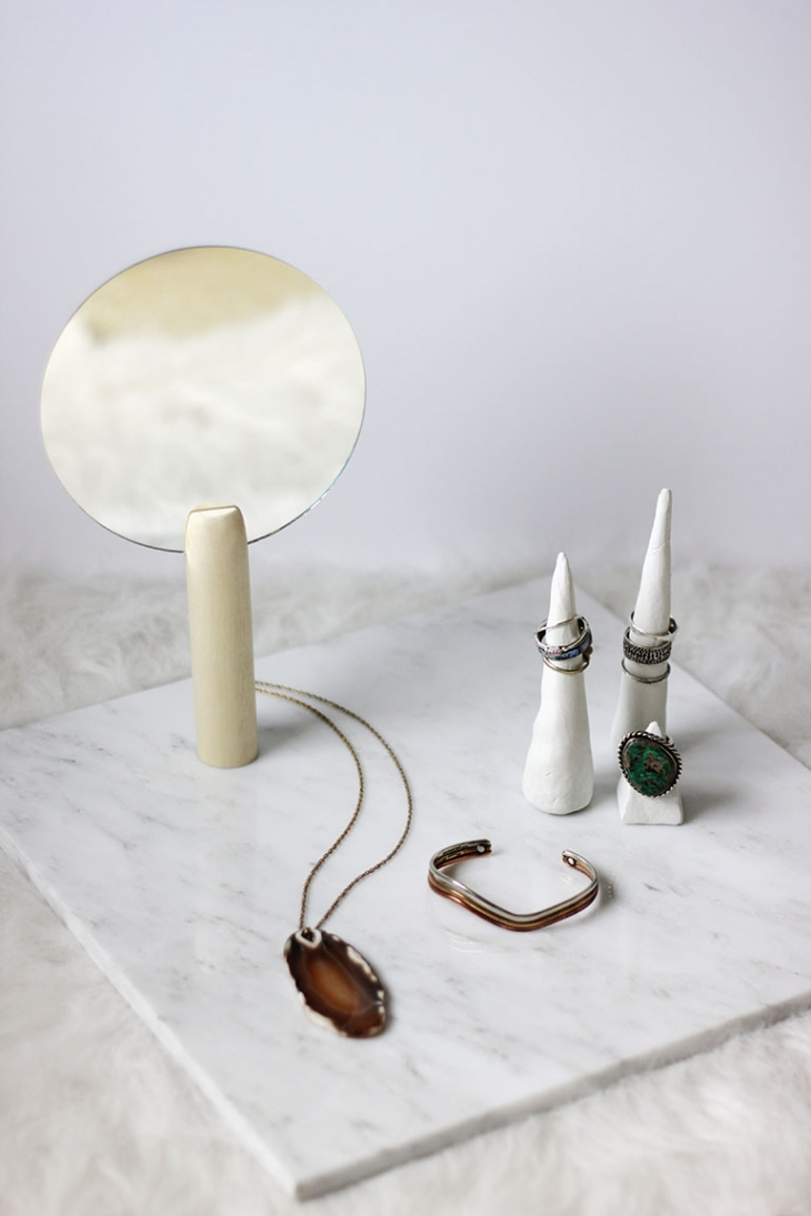 DIY Hand Mirror @themerrythought