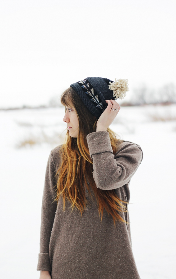 DIY Hat From An Old Sweater @themerrythought