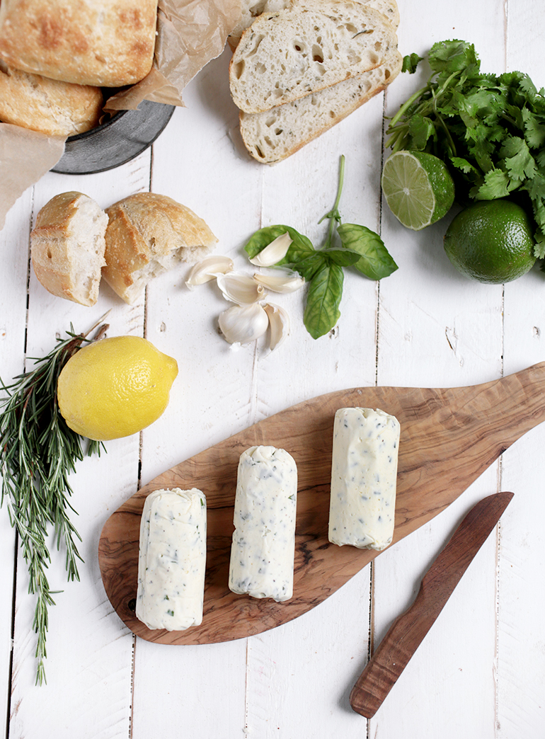 Herb Compound Butter - 3 Ways @themerrythought