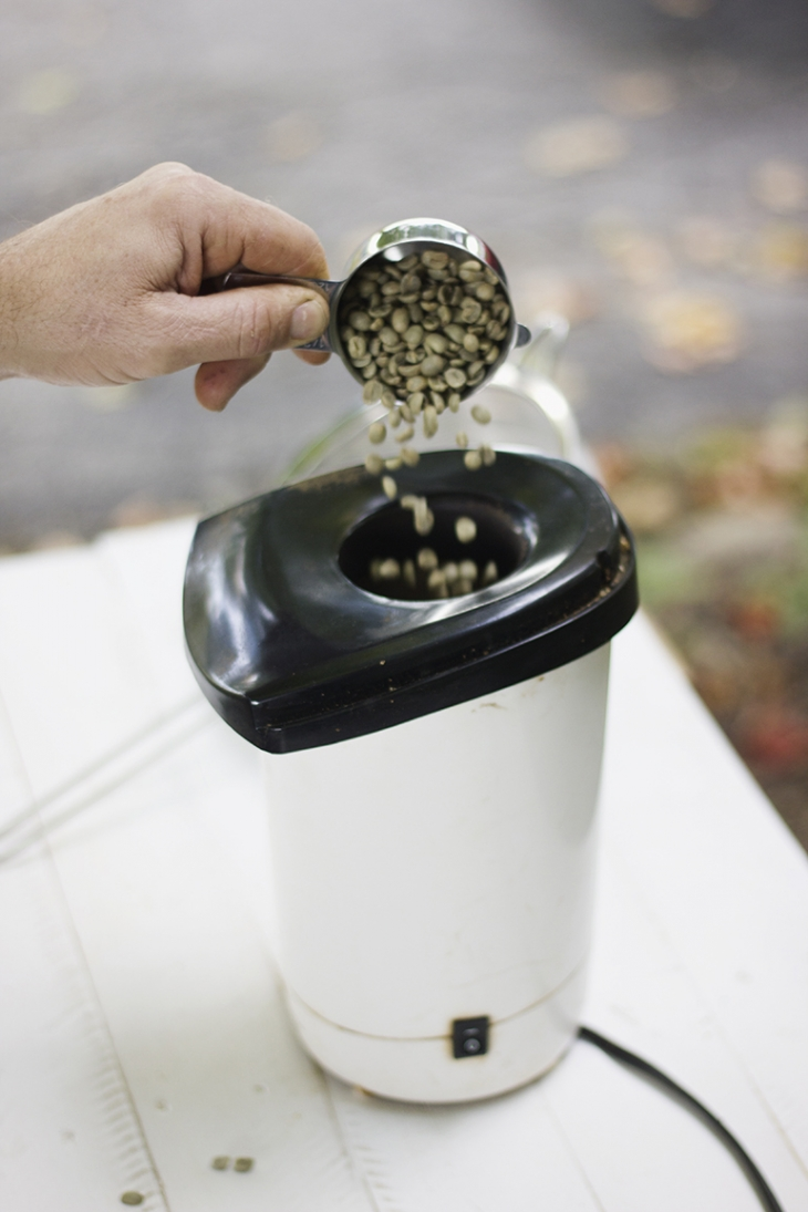 DIY Coffee Roasting @themerrythought