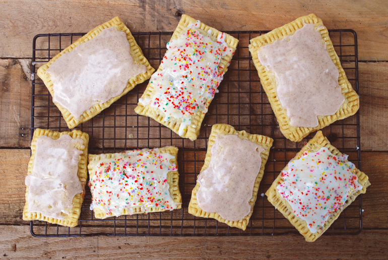 finally posting the recipe for these homemade pop-tarts I teased ...