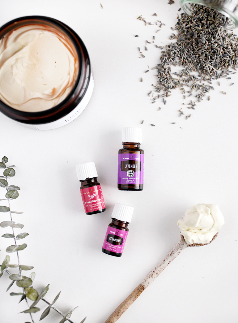 Homemade Body Butter w/ Essential Oils @themerrythought