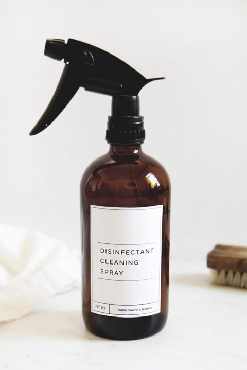 DIY Disinfectant Cleaning Spray