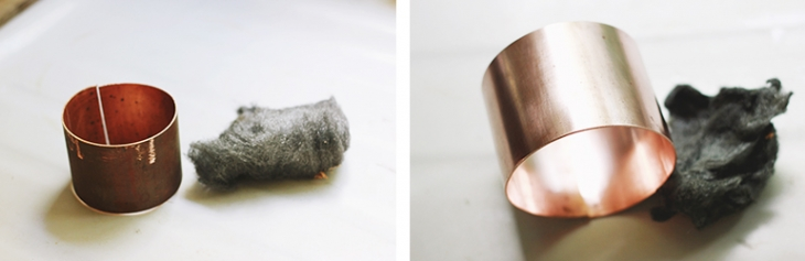 DIY Etched Copper Cuff | The Merrythought