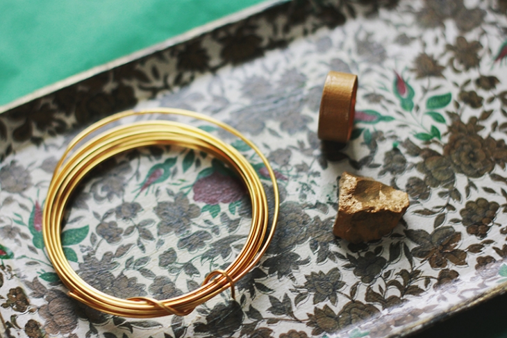 Stone Ring DIY // The Merrythought