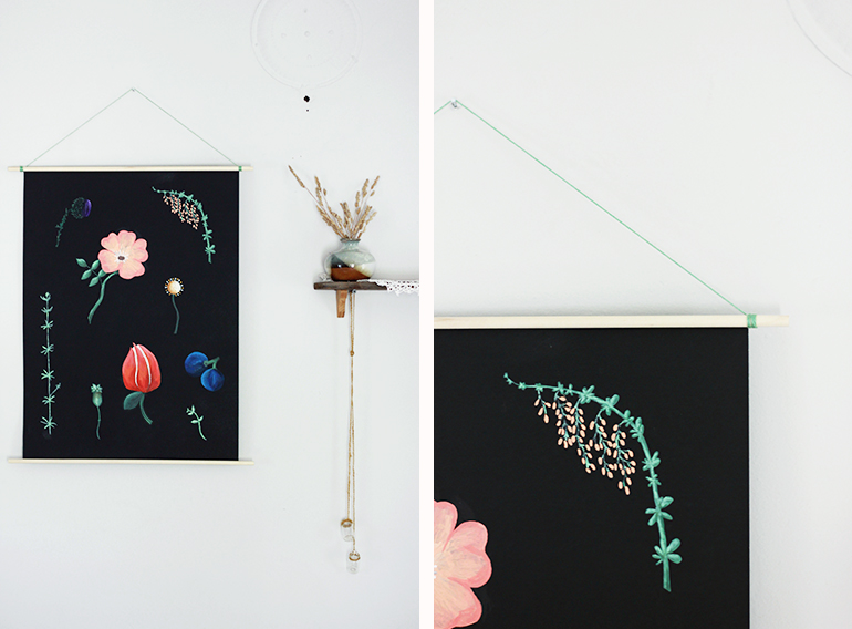 DIY Botanical Poster | The Merrythought