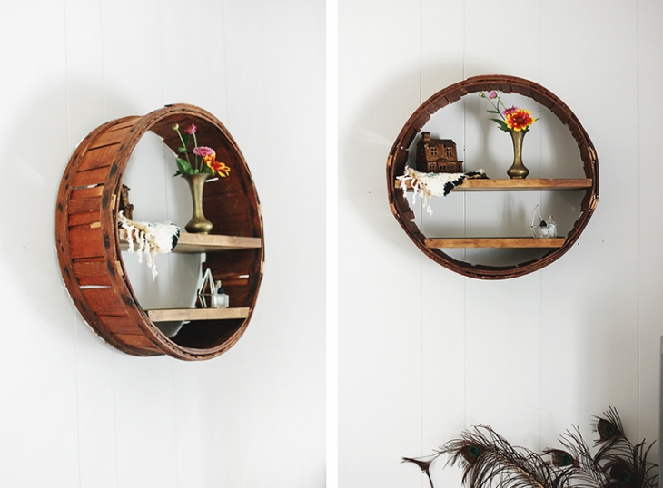 DIY Round Shelf | The Merrythought