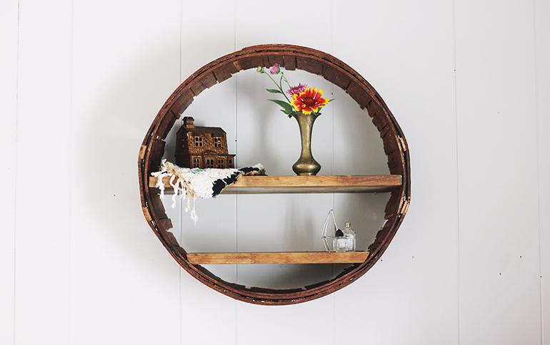 Diy Circle Shelf The Merrythought
