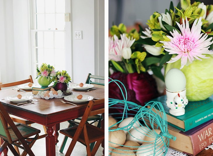 A Simple Easter Centerpiece // The Merrythought