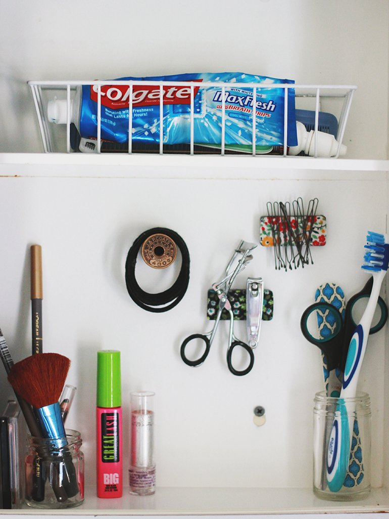 Medicine Cabinet Organization | The Merrythought