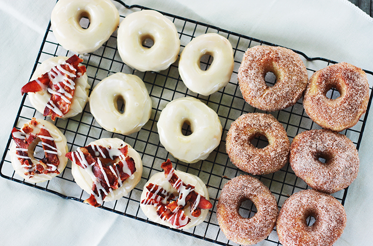 Baked Doughnuts | The Merrythought