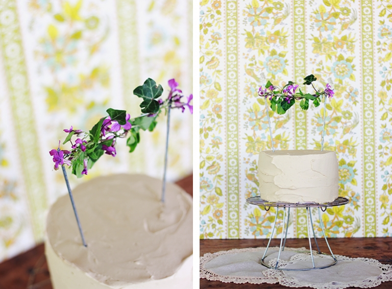 Fresh Floral Cake And Cupcake Toppers The Merrythought