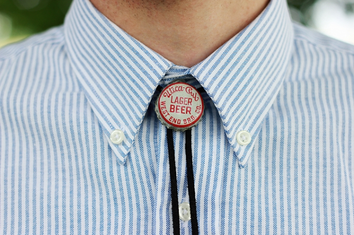 DIY Bolo Tie | The Merrythought