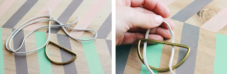 DIY Brass & Leather Necklace | The Merrythought