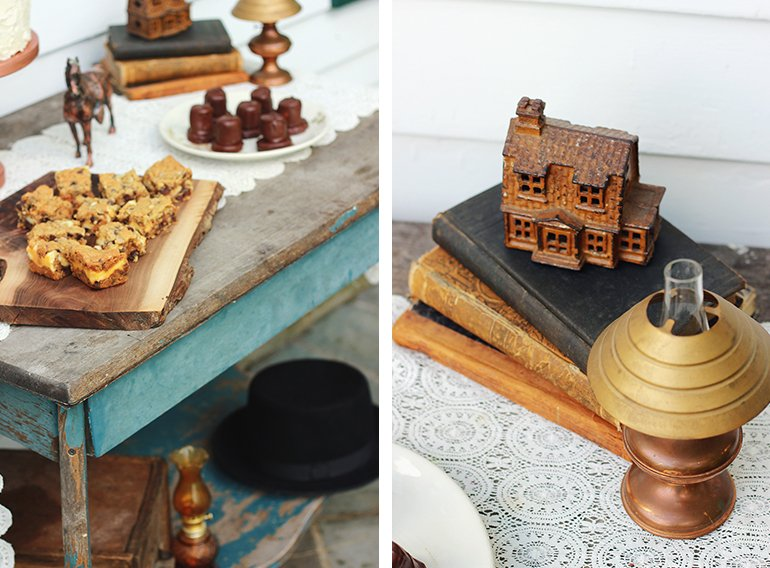 Copper Party Decor | The Merrythought