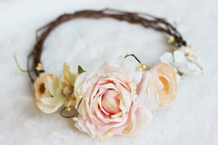 DIY Floral Crown | The Merrythought